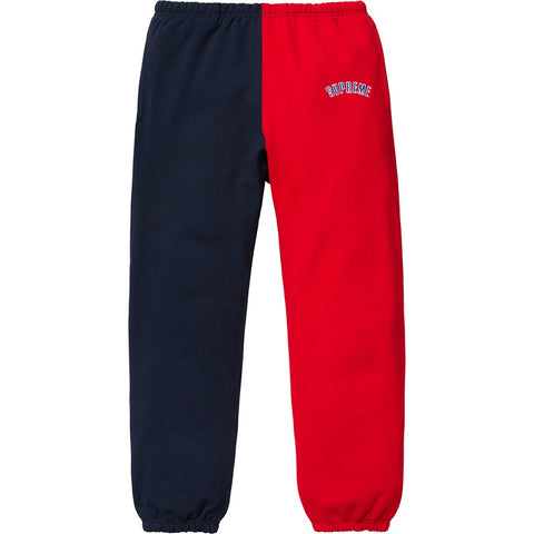 Supreme 18F/W Split Sweatpant Navy
