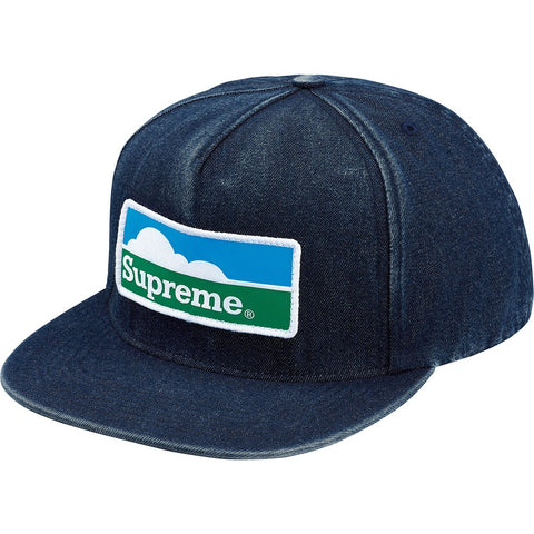 Supreme 18F/W Horizon 5-Panel Denim