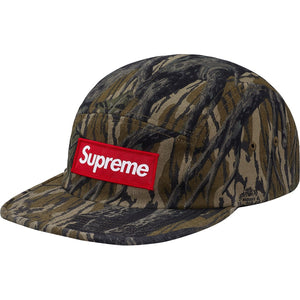 Supreme 18F/W Military Camp Cap Mossy Oak Camo
