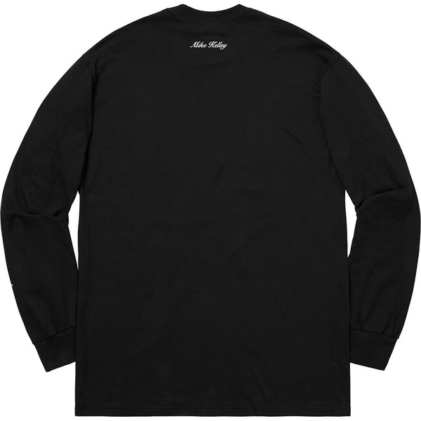 Supreme 18F/W Ahh…Youth! L/S Tee Black