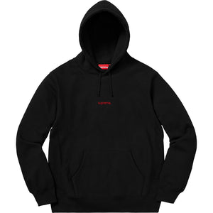 Supreme 18F/W Trademark Hooded Sweatshirt Black