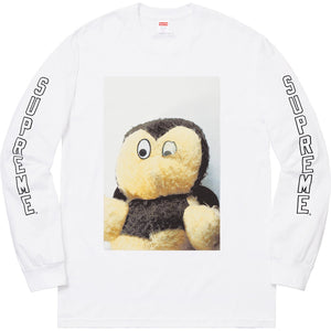 Supreme 18F/W Ahh…Youth! L/S Tee White