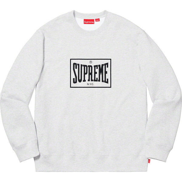 19S/S Warm Up Crewneck Grey
