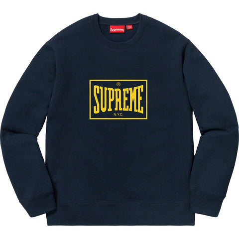 19S/S Warm Up Crewneck Navy