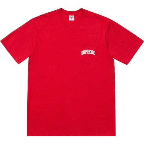 Supreme 19S/S NFL Raiders '47 Pocket Tee Red