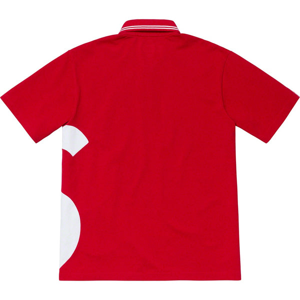 Supreme 19S/S S Logo Polo Red