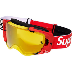 Supreme 19FW Honda Fox Racing Vue Goggles Red
