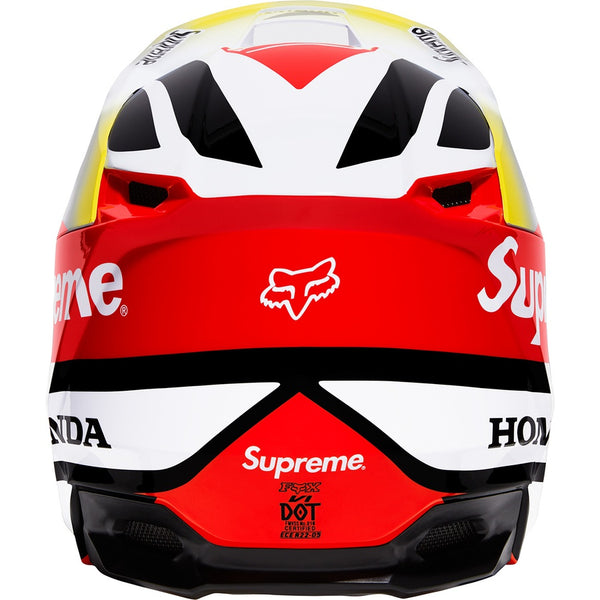 Supreme 19FW Honda Fox Racing V1 Helmet Red Size L