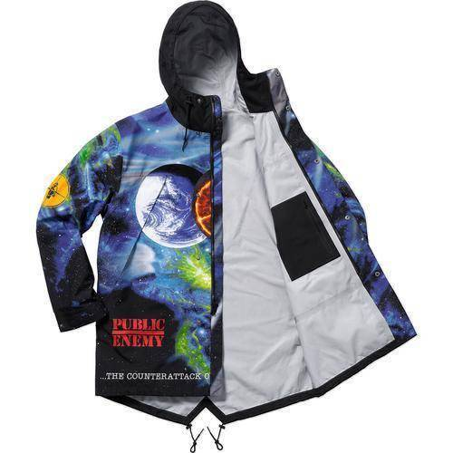 Supreme 18SS Undercover Public Enemy Taped Seam Parka