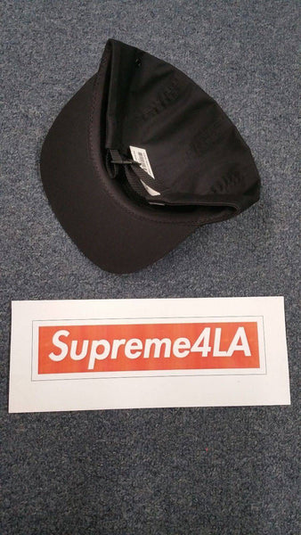 Supreme 18S/S Visor Print Camp Cap Black