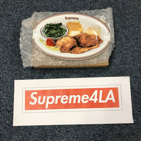 Supreme 18S/S Chicken Dinner Plate Ashtray