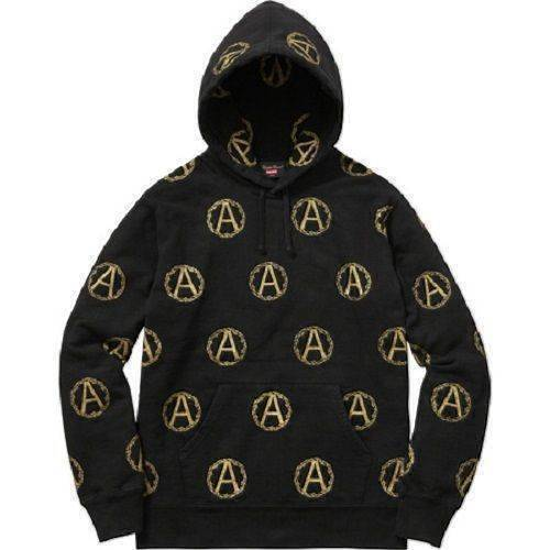 Supreme 16F/W Undercover Anarchy Hooded Sweatshirt Black