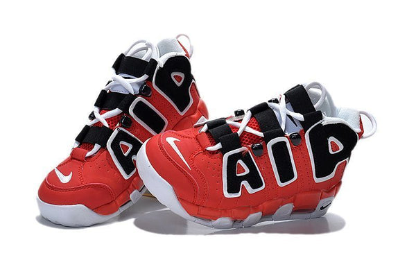 Nike Air More Uptempo (GS) Red/White-Black Christmas