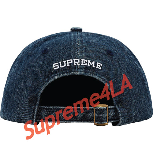 Supreme 18F/W B.C. 6-Panel Hat Blue