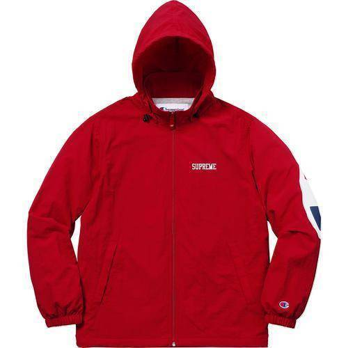 Supreme 18S/S Champion Track Jacket Dark Red