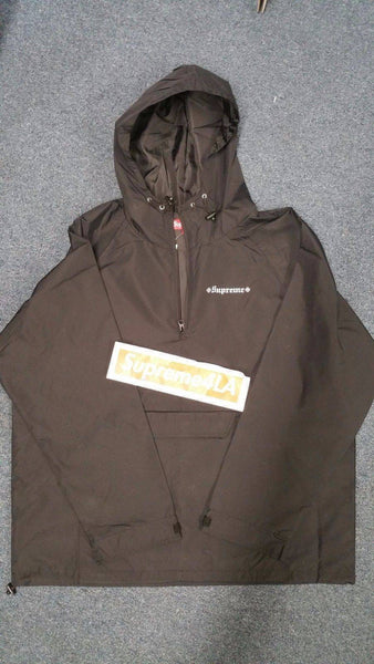 Supreme 17F/W Independent Nylon Anorak Black