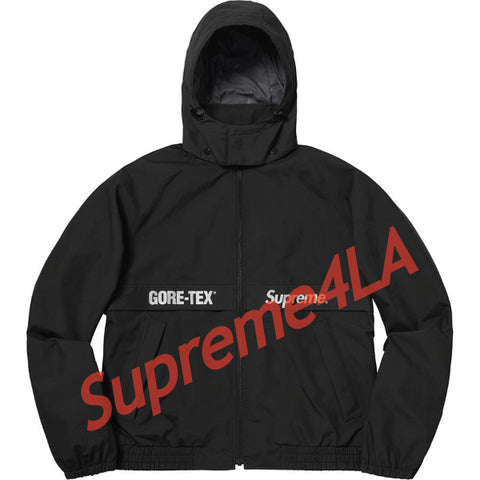 Supreme 18F/W GORE-TEX Court Jacket Black