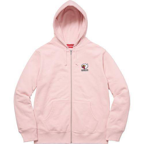 Supreme 17F/W Gonz Ramm Zip Up Sweatshirt Pink