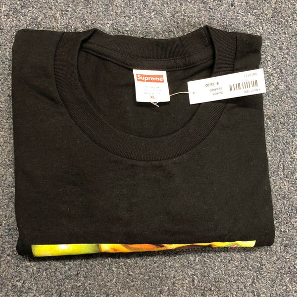 19S/S Fruit Tee Black
