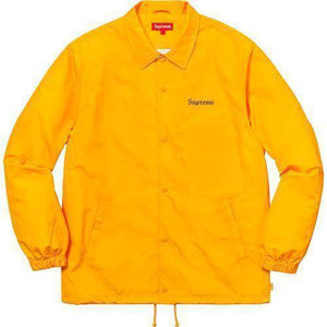 Supreme Nan Goldin Misty Jimmy Paulette Coaches Jacket Gold