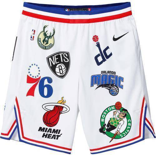 Supreme 18S/S Nike NBA Teams Authentic Short White