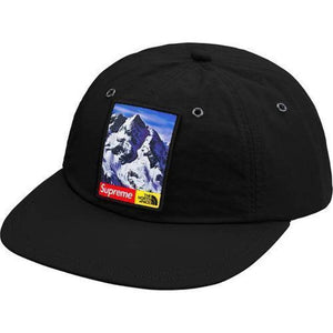 Supreme 17F/W The North Face Mountain 6-Panel Hat Black