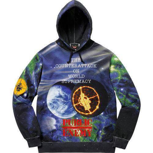 Supreme 18S/S Undercover Public Enemy Hooded Sweatshirt