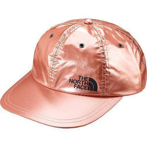 Supreme The North Face Metallic 6-Panel Hat Rose Gold