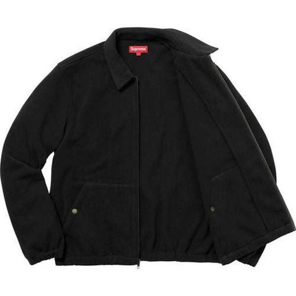 Supreme 17F/W Polartec Harrington Jacket Black