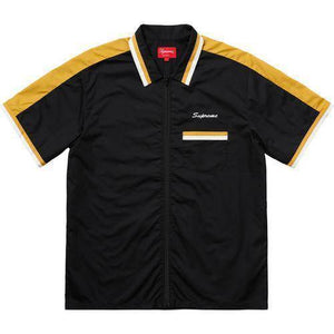 Supreme 18S/S Zip Up Work Shirt Black
