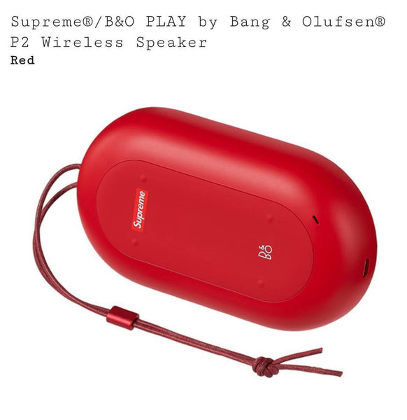 SUPREME Supreme 17F/W B&O PLAY by Bang & Olufsen P2 Wireless Speaker