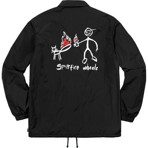 Supreme 18S/S Spitfire Coaches Jacket Black