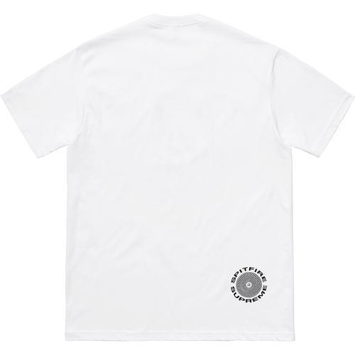 Supreme 18S/S Spitfire Cat T-Shirt White
