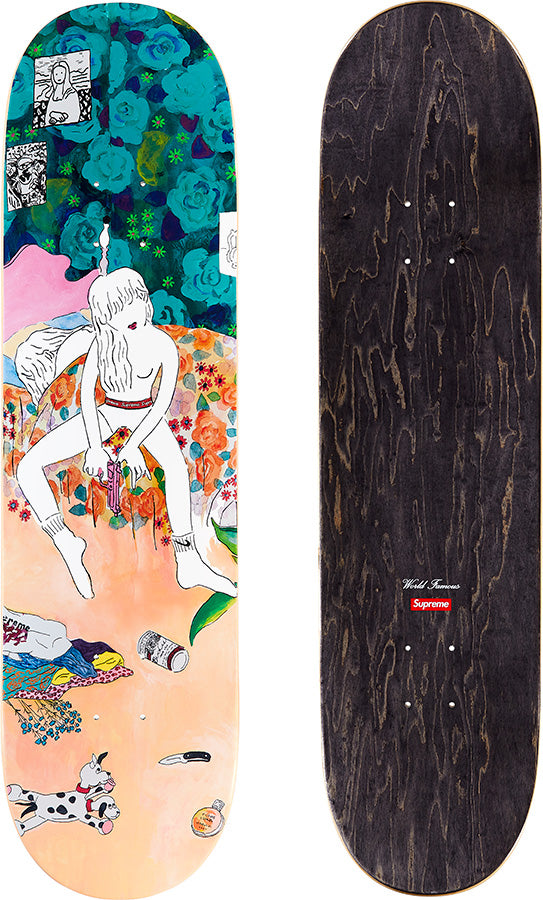 Supreme 18F/W Bedroom Skateboard Deck