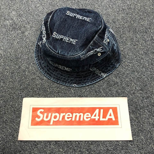 19S/S Logo Denim Crusher Denim