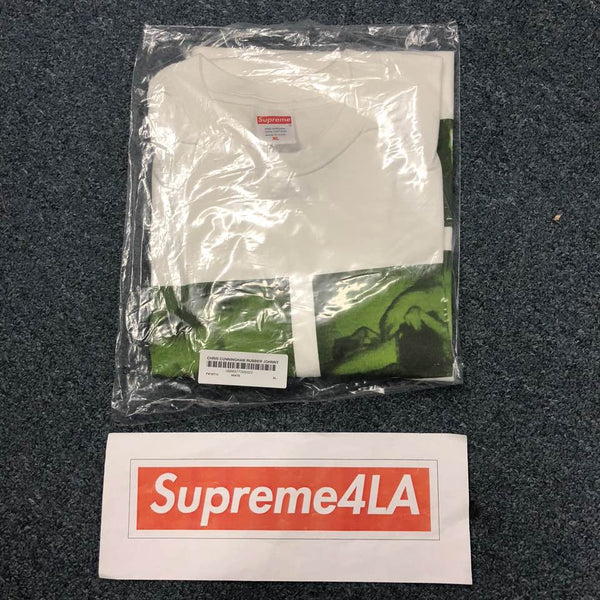 Supreme 18F/W Chris Cunningham Rubber Johnny Tee White