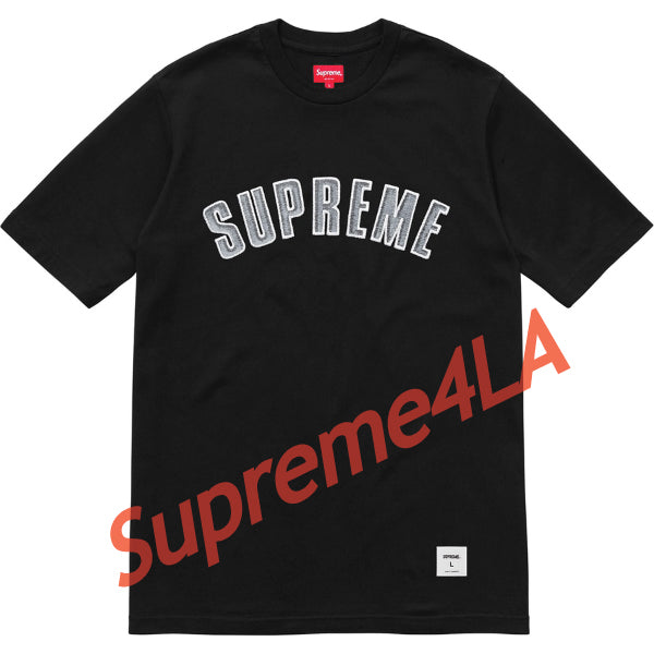 Supreme 18F/W Printed Arc S/S Top Black
