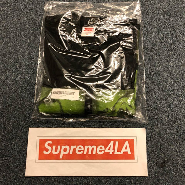 Supreme 18F/W Chris Cunningham Rubber Johnny Tee Black