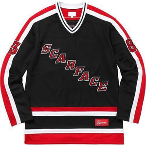 Supreme 17F/W Scarface Hockey Jersey Black