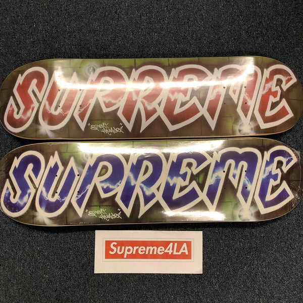 Supreme 18S/S Lee Logo Skateboard Decks (Set of 2)