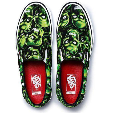 Supreme 18S/S Vans Skull Pile Slip-On