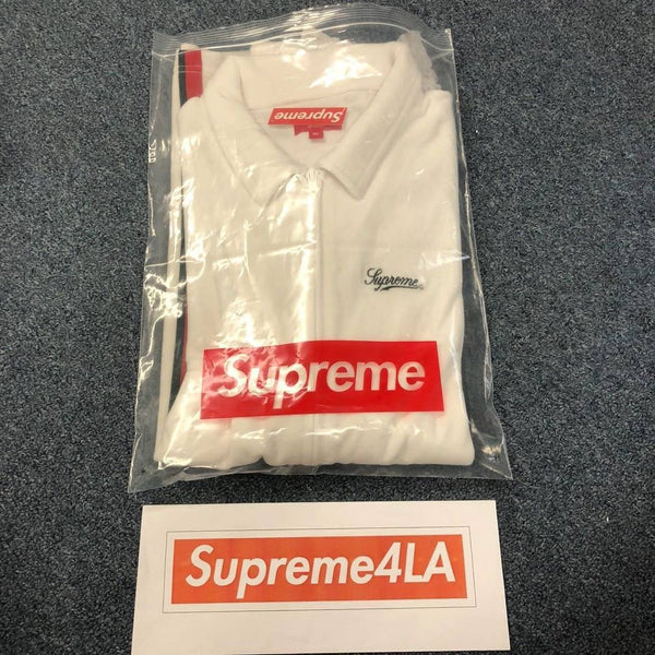 Supreme 18S/S Velour Warm Up White Gucci Color