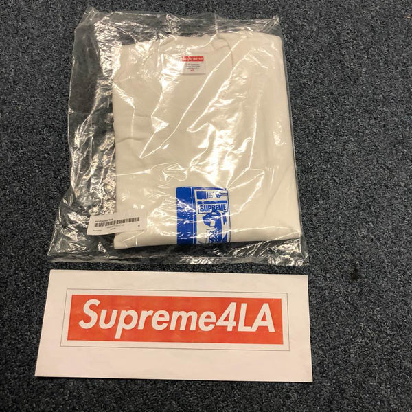 Supreme 18F/W Payphone Tee White