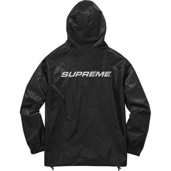 Supreme 17F/W Packable Ripstop Pullover Black
