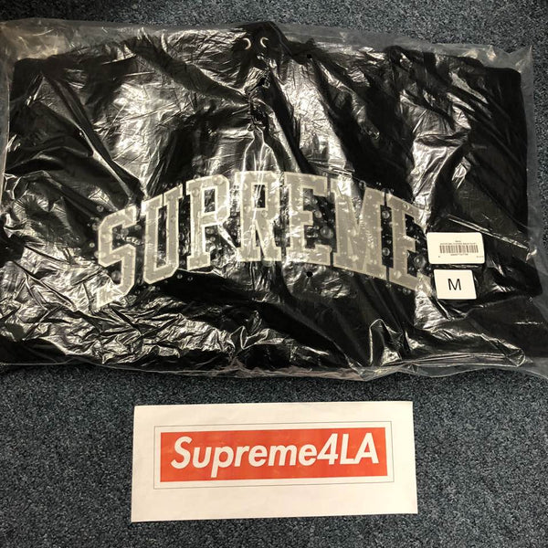 Supreme 18F/W Water Arc Hooded Sweatshirt Black