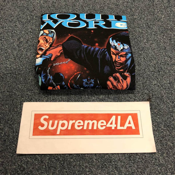 Supreme 18F/W Liquid Swords Tee Black