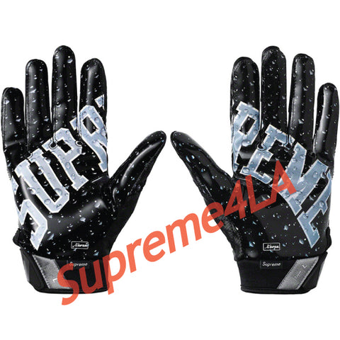 Supreme 18F/W Nike Vapor Jet 4.0 Football Gloves Black
