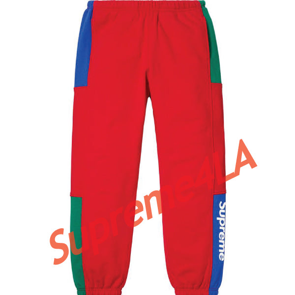 19S/S Formula Sweatpant Red