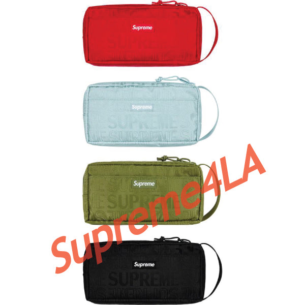 19S/S Organizer Pouch Red