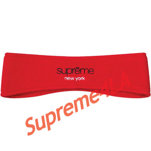 Supreme 18F/W Polartec® Headband Red